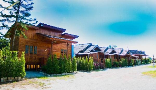 Cozy wood cabin  in Chiangrai, Imsuk Homestay Chiang Rai