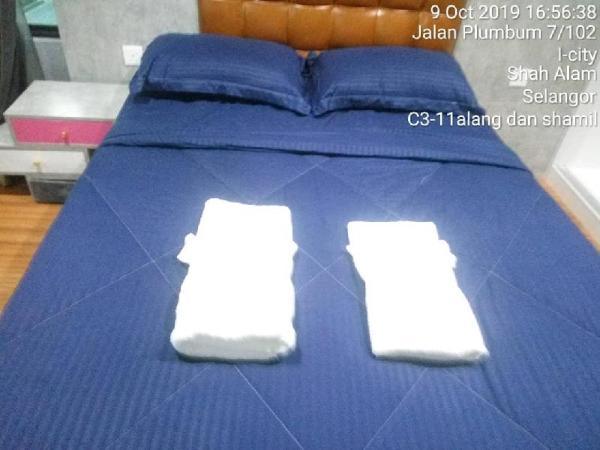 I city @ I soho @ Yuuki Homestay @ 2 Bedrooms Shah Alam