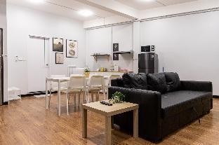 [スクンビット]アパートメント(70m2)| 2ベッドルーム/1バスルーム U3 Large 2 Bedroom Full kitchen 100m BTS Udomsuk