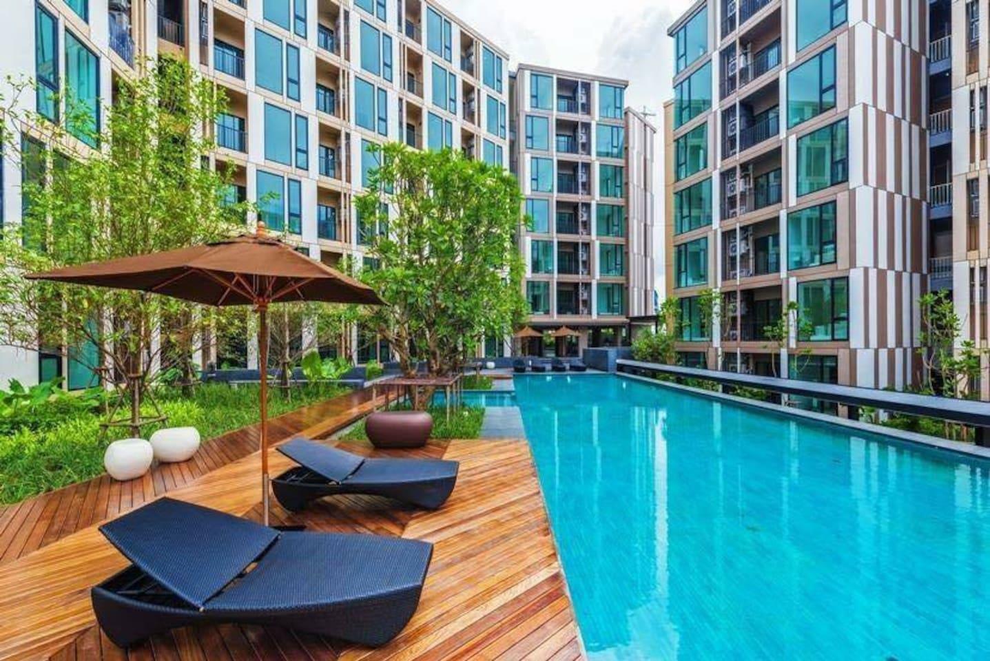 Two Bedroom   Nice Poolview   Phuket Town   U116