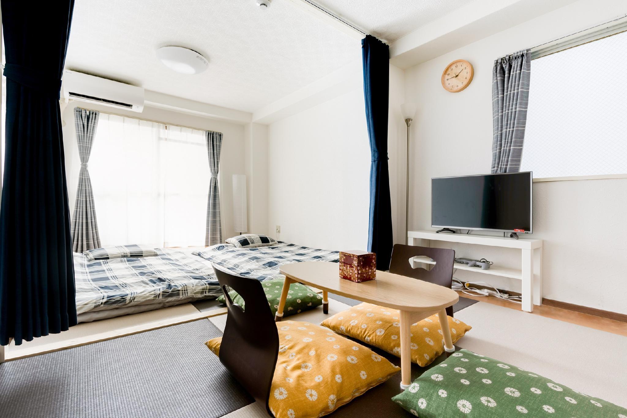 G122 Modern Japanese Style Room MX For 4PPL