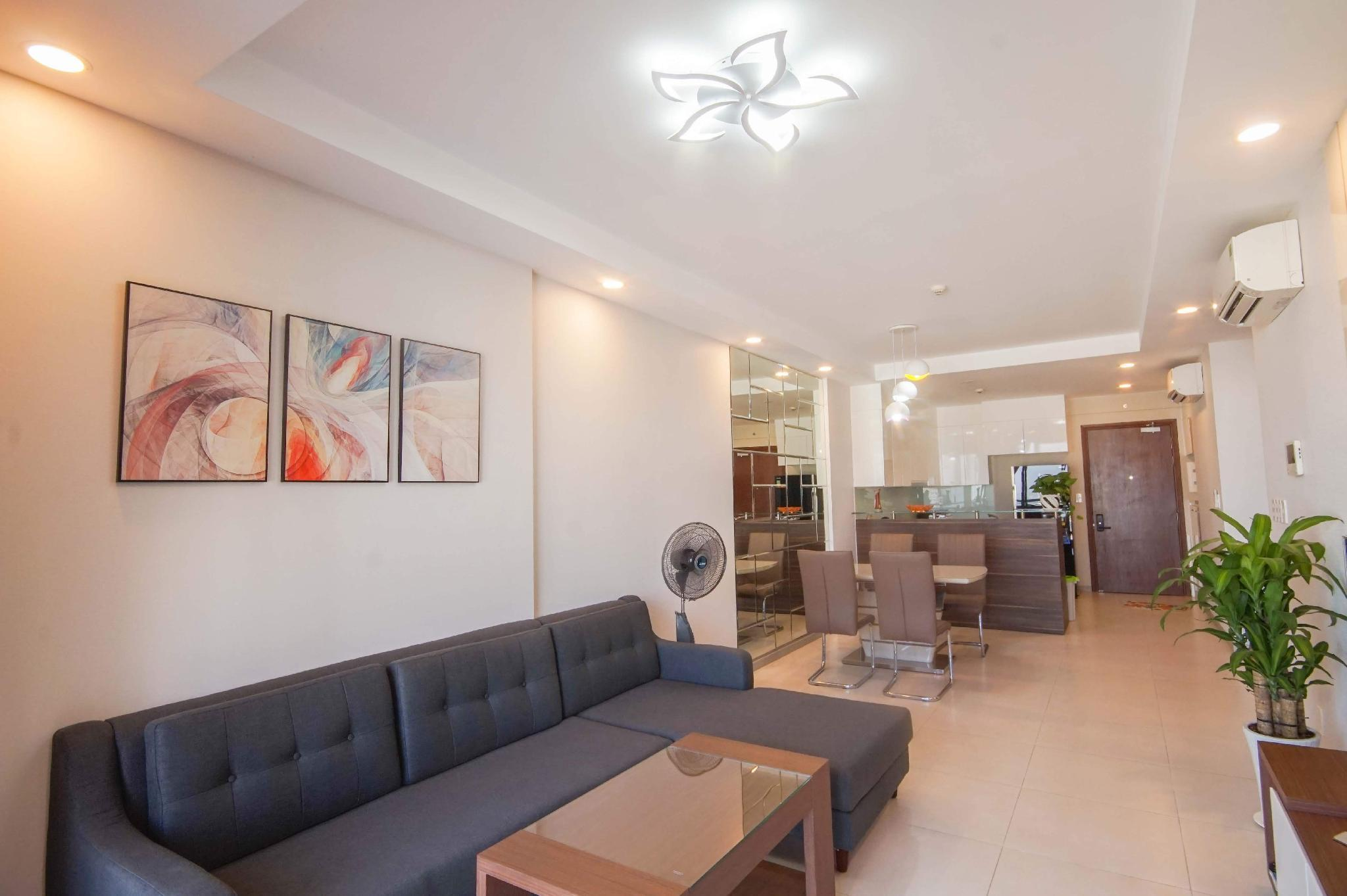 Beautiful Apartment GoldView 2BR GYM POOL