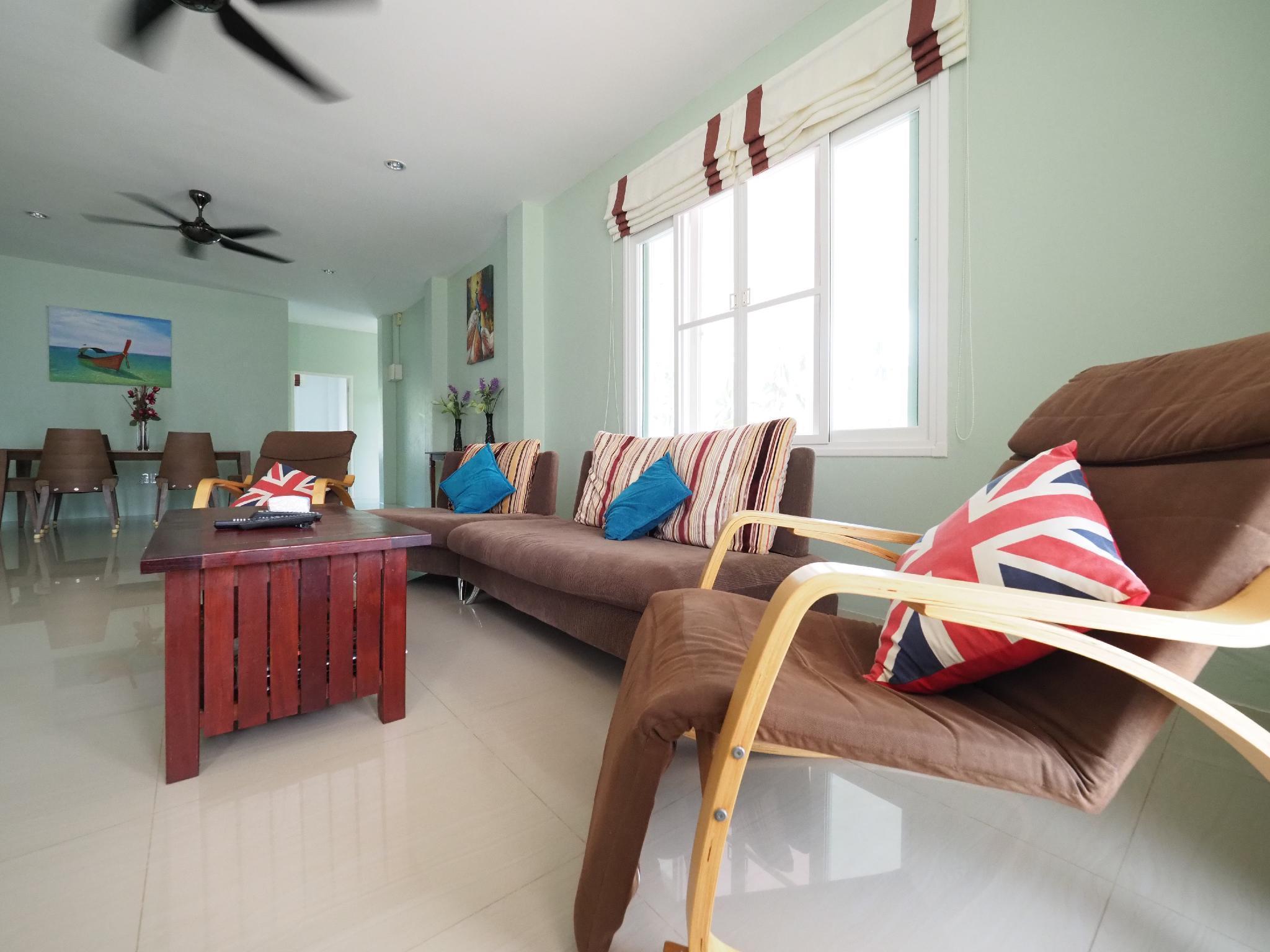 Coco Pool Villa Bangsaphan วิลลา 3 ห้องนอน 2 ห้องน้ำส่วนตัว ขนาด 800 ตร.ม. – บางสะพาน