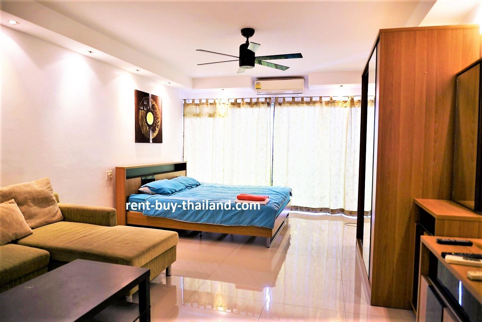 Pattaya Plaza condo shopping, restaurants & bars สตูดิโอ อพาร์ตเมนต์ 1 ห้องน้ำส่วนตัว ขนาด 40 ตร.ม. – พัทยากลาง
