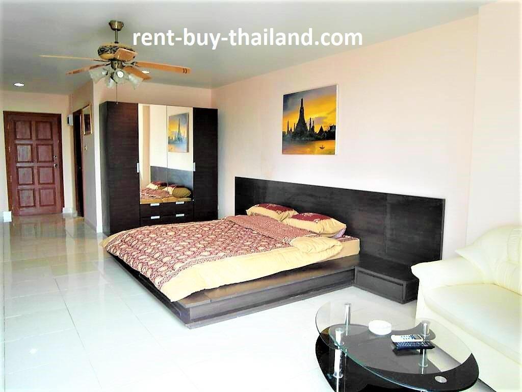 Modern studio apartment View talay 2 Pattaya สตูดิโอ อพาร์ตเมนต์ 1 ห้องน้ำส่วนตัว ขนาด 41 ตร.ม. – หาดดงตาล