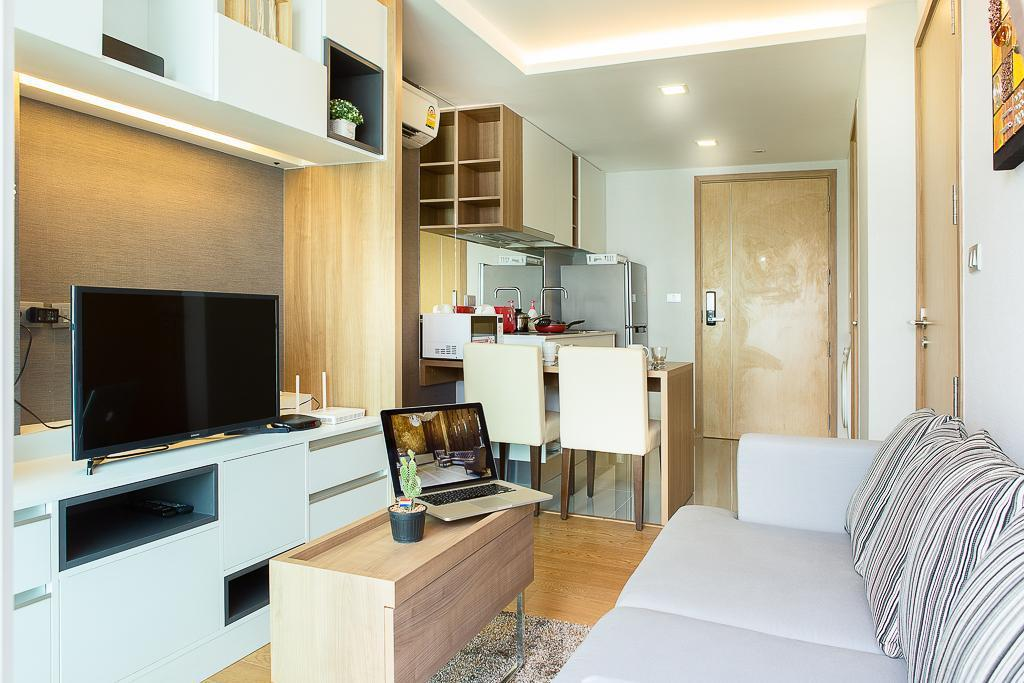 Breezy Condo Next To St Food&Night Life  IV สตูดิโอ อพาร์ตเมนต์ 0 ห้องน้ำส่วนตัว ขนาด 39 ตร.ม. – สุขุมวิท