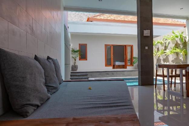 New villa with rice field views near Echo Beach