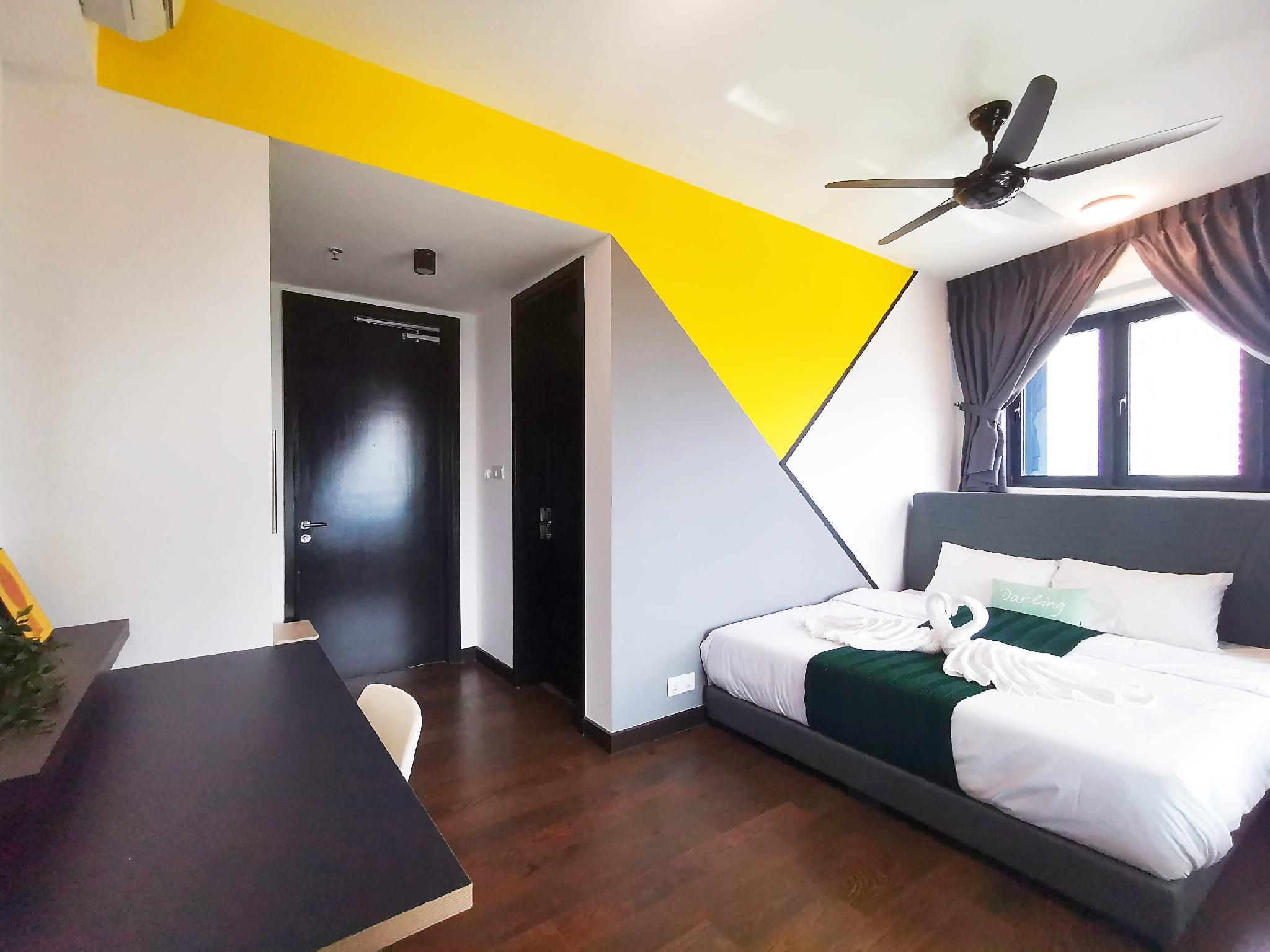 Almas Duplex 4pax  WIFI C1106  @ JB City Home
