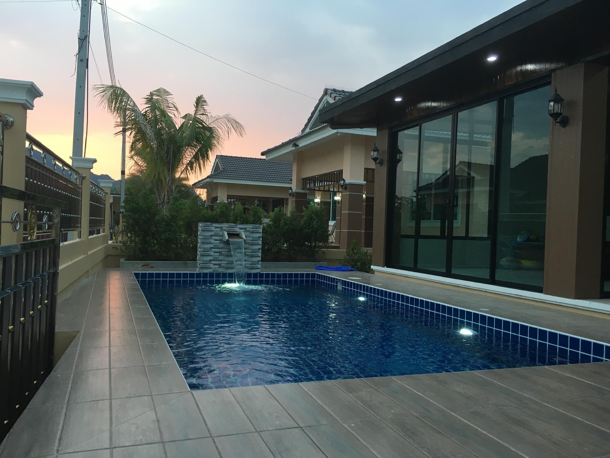 Fuji House Cha-Am Pool villa near the beach บ้านเดี่ยว 3 ห้องนอน 2 ห้องน้ำส่วนตัว ขนาด 120 ตร.ม. – ชายหาดชะอำ