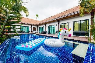 Baan Naya Pool Villa 4BR w/Breakfast near Beach 4 ห้องนอน 4 ห้องน้ำส่วนตัว ขนาด 480 ตร.ม. – ในหาน