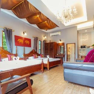 [市内中心部]アパートメント(42m2)| 1ベッドルーム/1バスルーム Amantrahomestay and spa (4 person/room)
