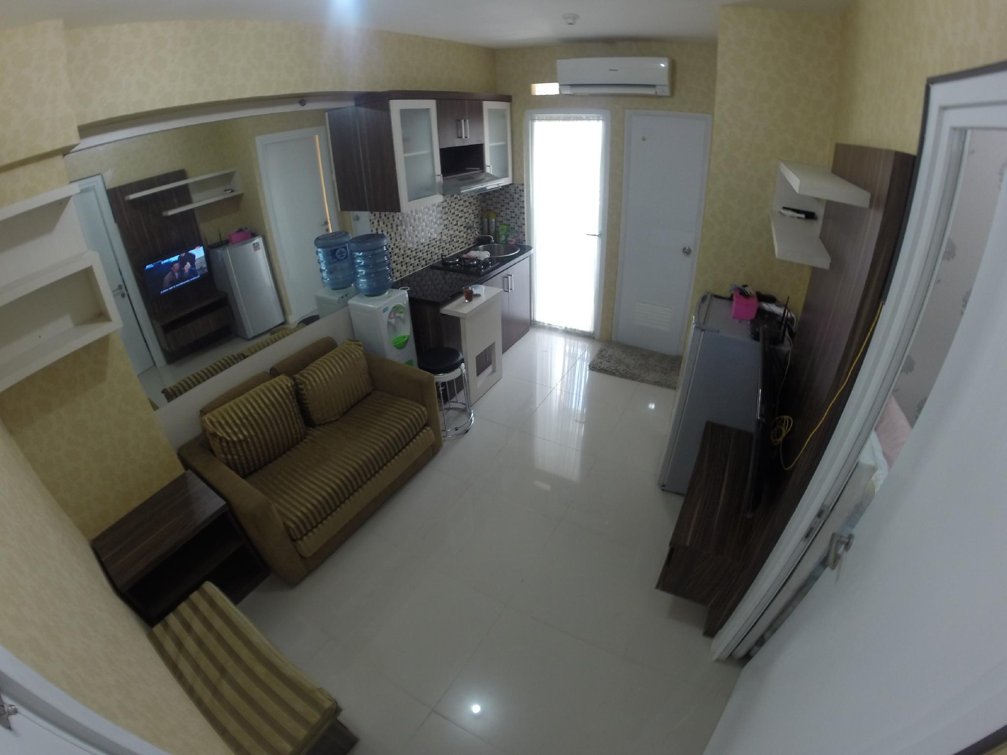 2 BR Apartement In Central Jakarta