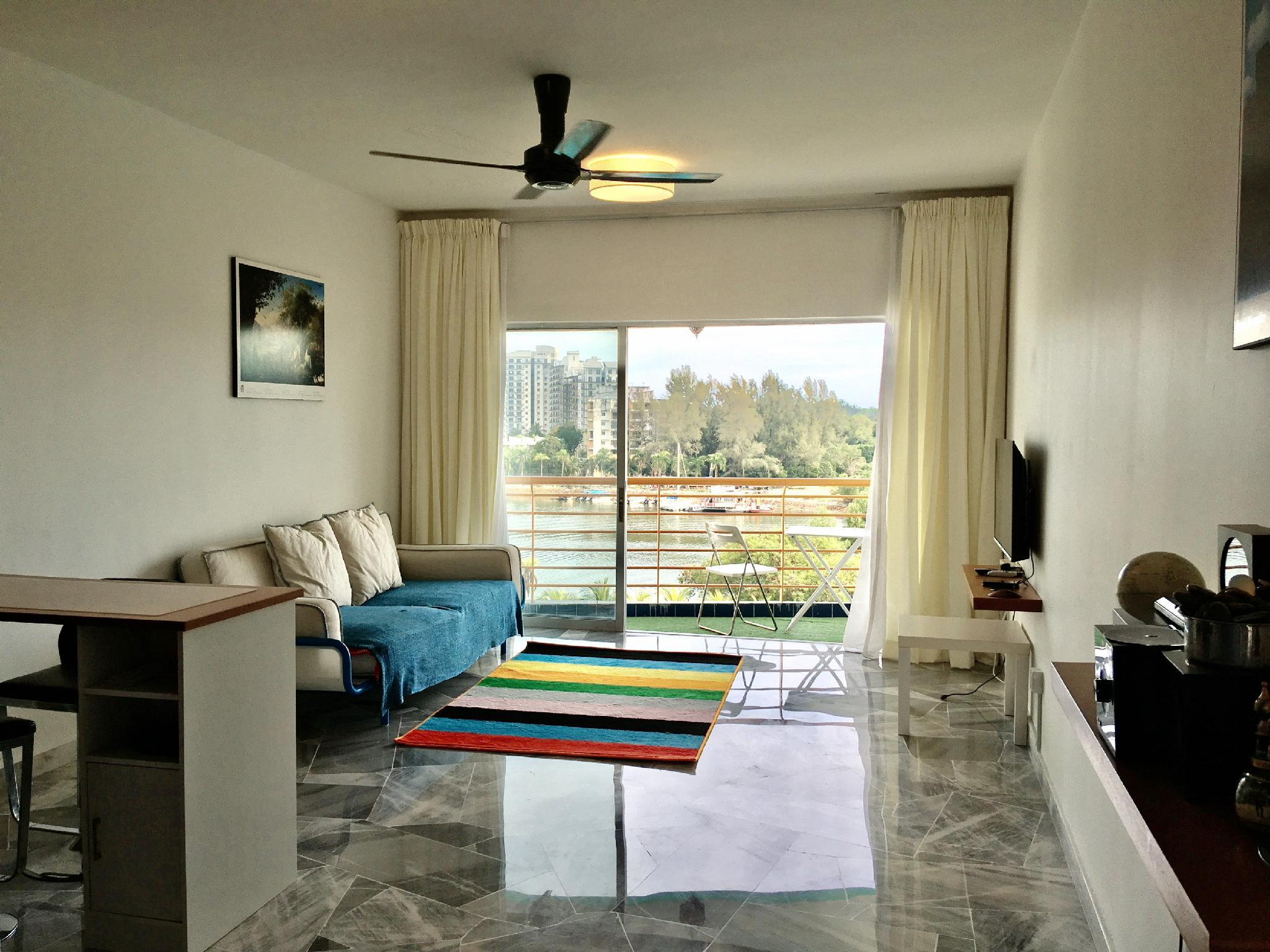 Port Dickson Private Seaview Sunset Apartment