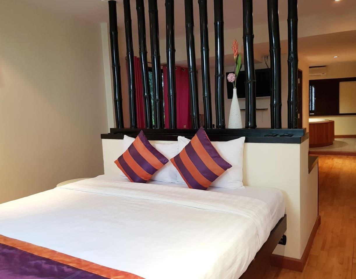 Modern Accommodation 3.4 km. from Patpong อพาร์ตเมนต์ 1 ห้องนอน 1 ห้องน้ำส่วนตัว ขนาด 55 ตร.ม. – สุขุมวิท