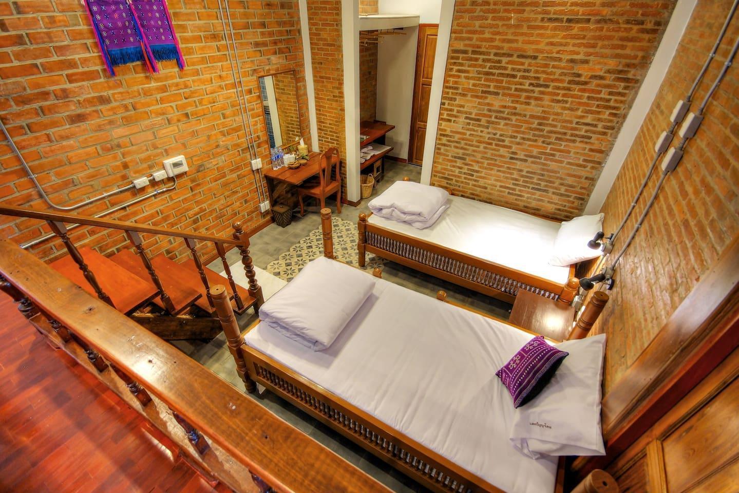 Saeng Panya Studio 1 ห้องนอน 1 ห้องน้ำส่วนตัว ขนาด 30 ตร.ม. – ห้วยแก้ว