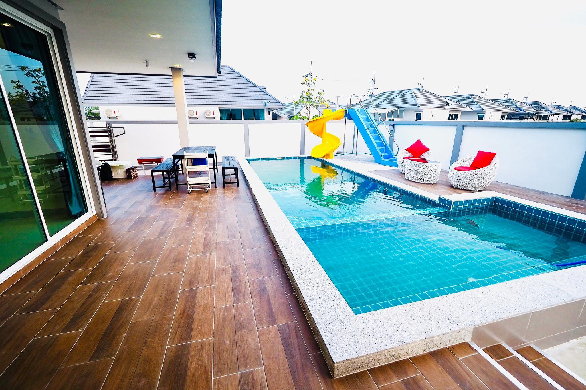 Pool Pool Villa Cha Am