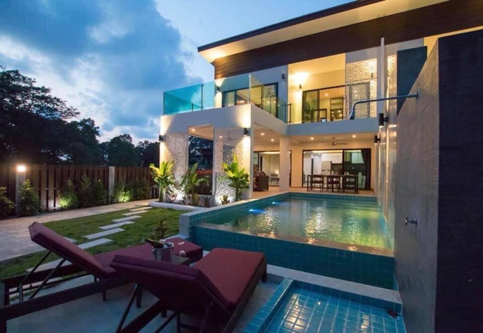 The Elegance Pool Villas วิลลา 2 ห้องนอน 3 ห้องน้ำส่วนตัว ขนาด 160 ตร.ม. – หาดทรายขาว