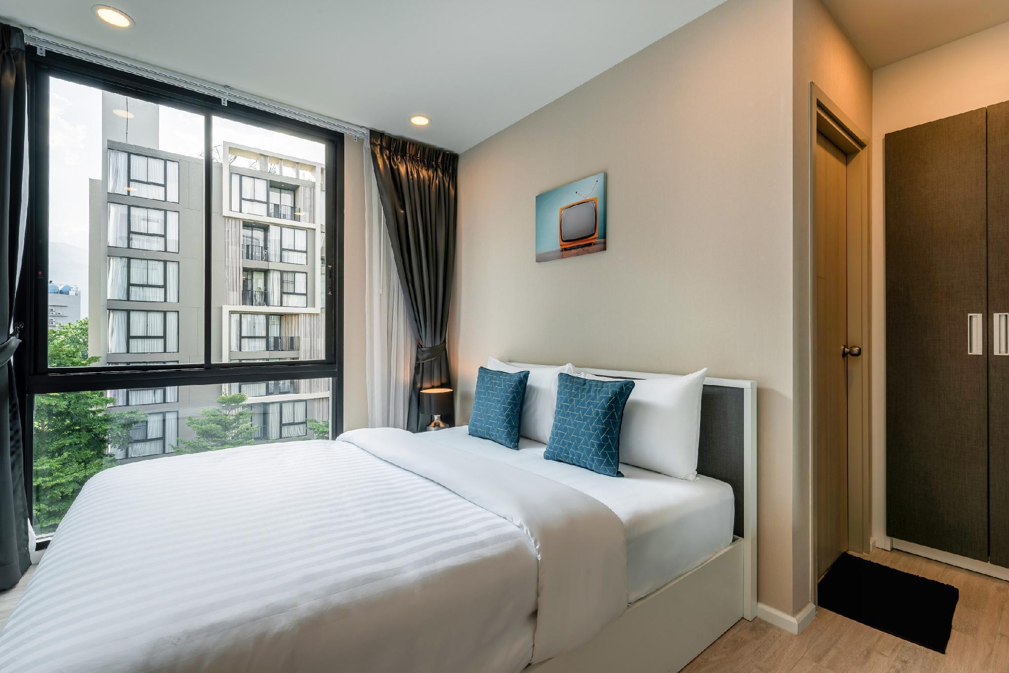 One Bedroom Suite in Nimman by Belcarra Spaces R51 อพาร์ตเมนต์ 1 ห้องนอน 1 ห้องน้ำส่วนตัว ขนาด 35 ตร.ม. – นิมมานเหมินทร์