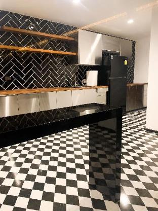[スクンビット]アパートメント(27m2)| 1ベッドルーム/1バスルーム Designer studio room/big kitchen near Thonglo BTS