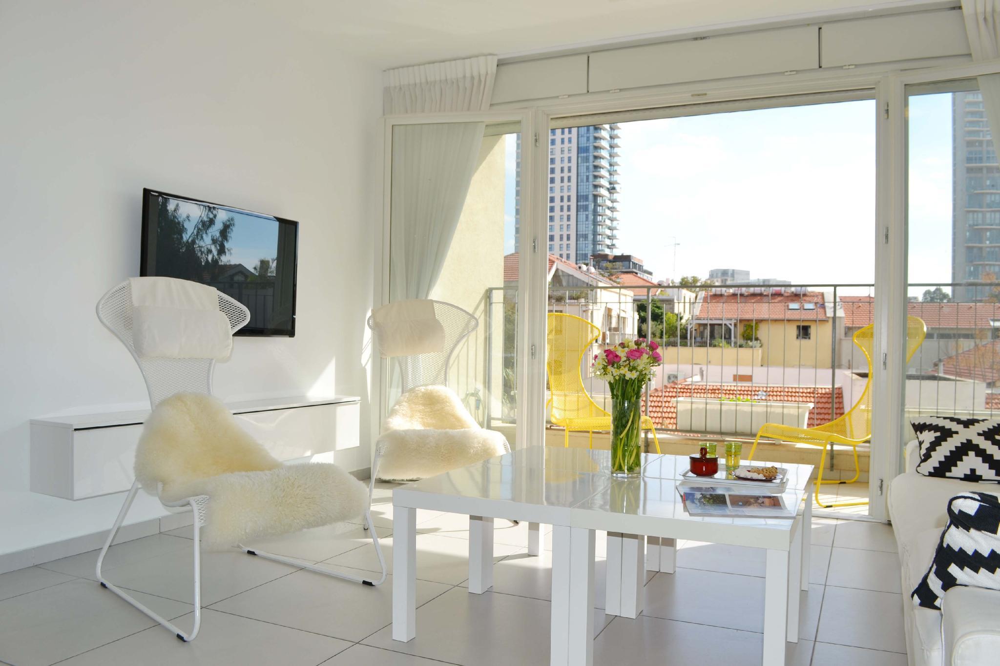 Design Apt Neve Tzedek   Terrace  N12