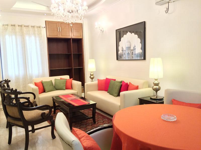 3 BHK Evergreen Service Apartment Defence Colony