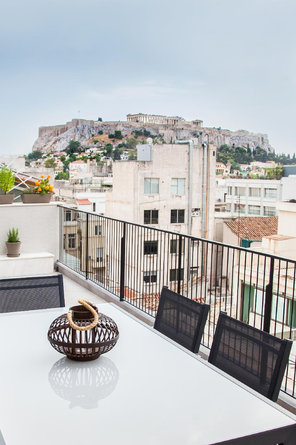 Cozy Penthouse With Stunning View To Acropolis
