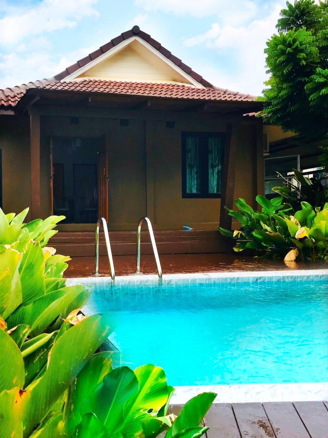 Well Journey Pool Villa, Aonang-Krabi วิลลา 2 ห้องนอน 1 ห้องน้ำส่วนตัว ขนาด 72 ตร.ม. – อ่าวนาง