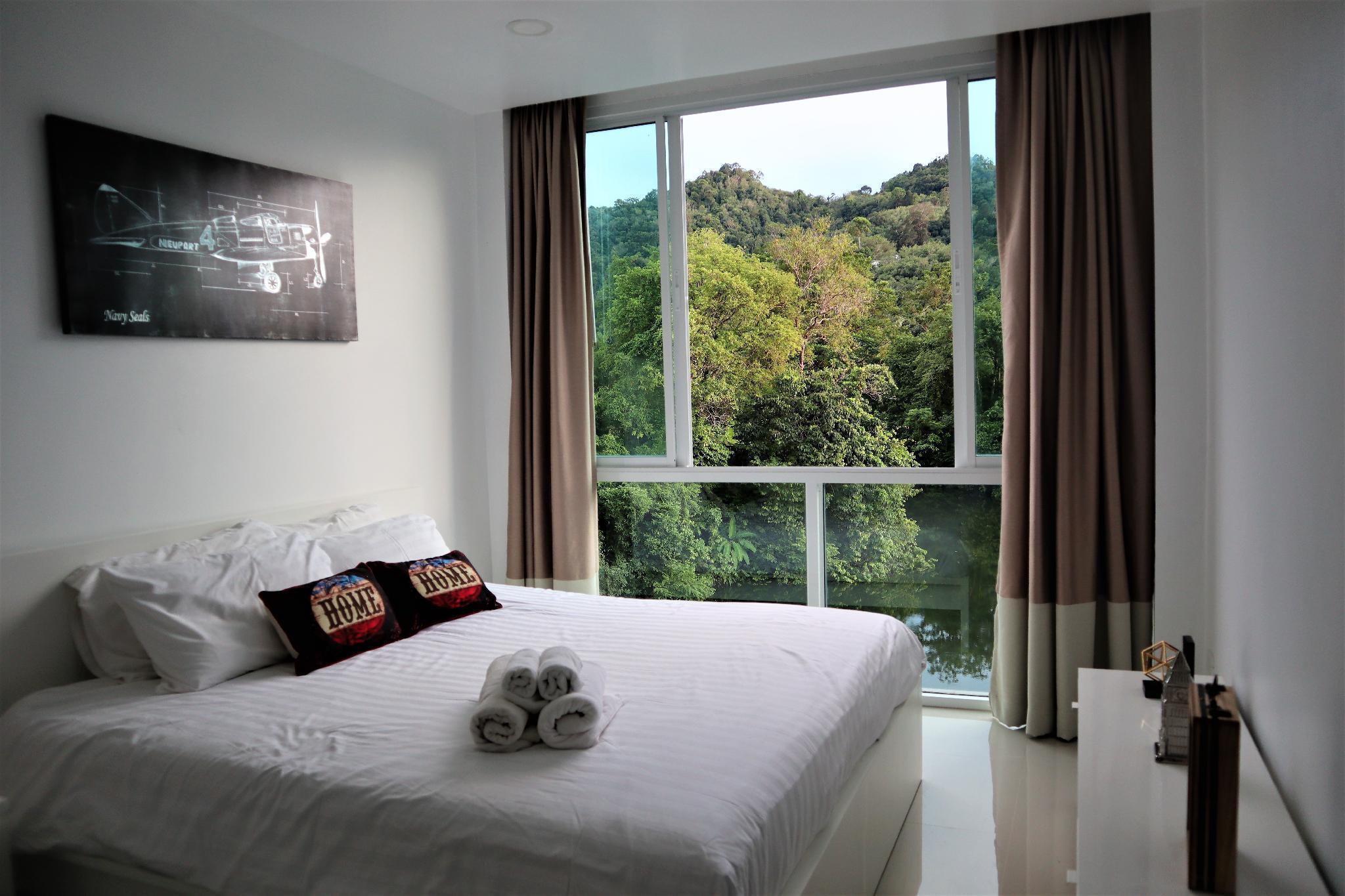 2 bedroom condo with pool and lake view unit 4 อพาร์ตเมนต์ 2 ห้องนอน 1 ห้องน้ำส่วนตัว ขนาด 57 ตร.ม. – กมลา
