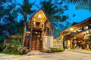 [シラチャー](30m2)| 1ベッドルーム/1バスルーム Suankaew Art Cottage (ReuanTonkaew)