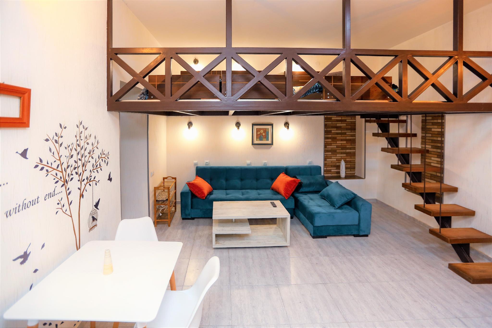 Duplex 1BR Apartment Zemelihouse