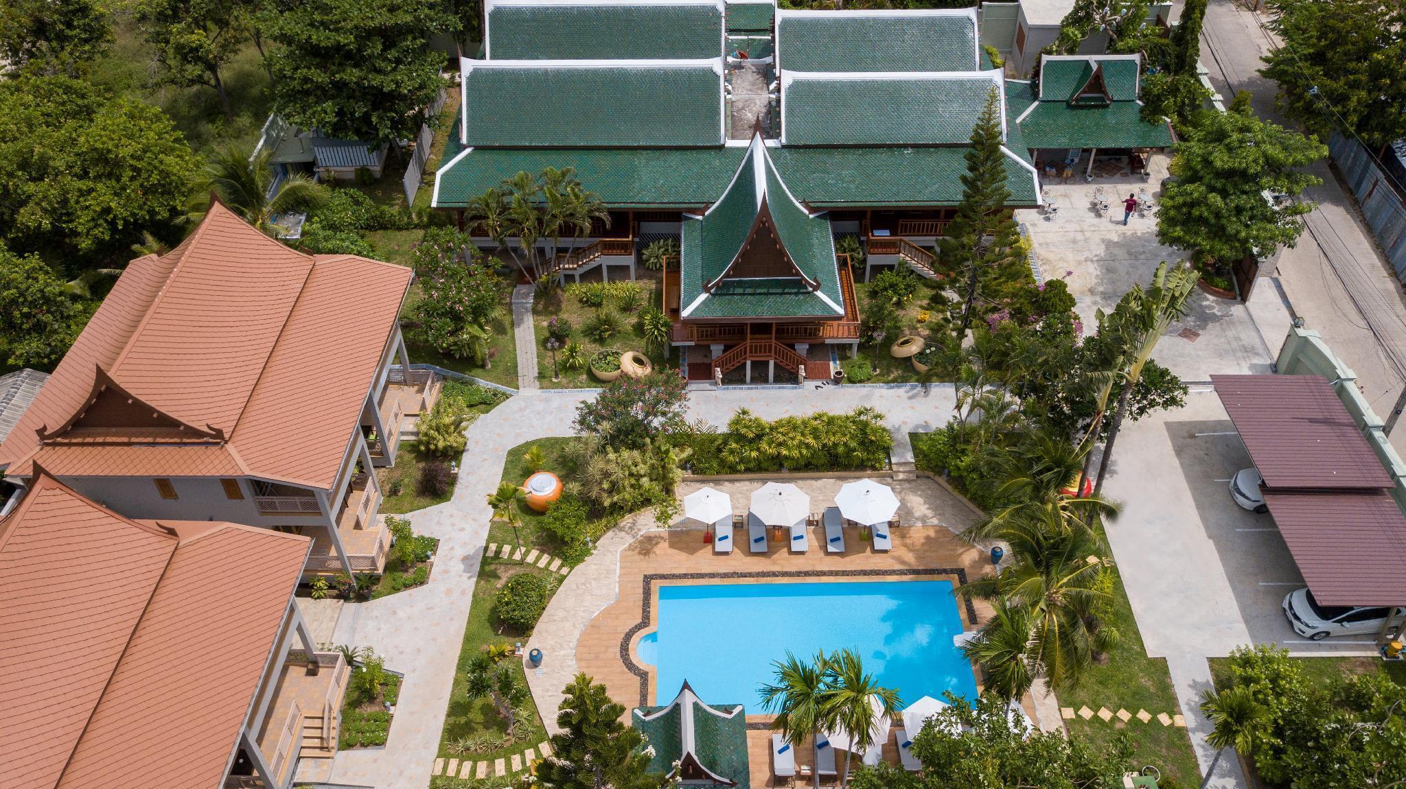 Wandee Garden Villa สตูดิโอ วิลลา 1 ห้องน้ำส่วนตัว ขนาด 20 ตร.ม. – เชิงมน