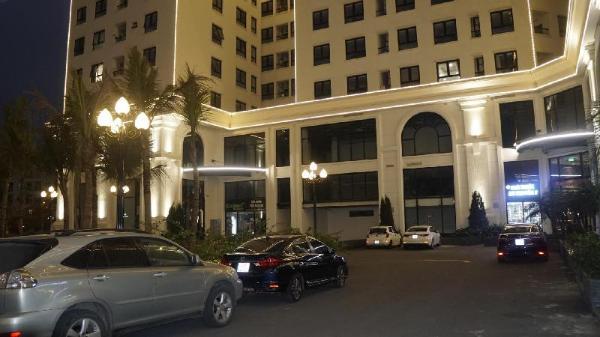 Ecocity luxury apartment building Hanoi