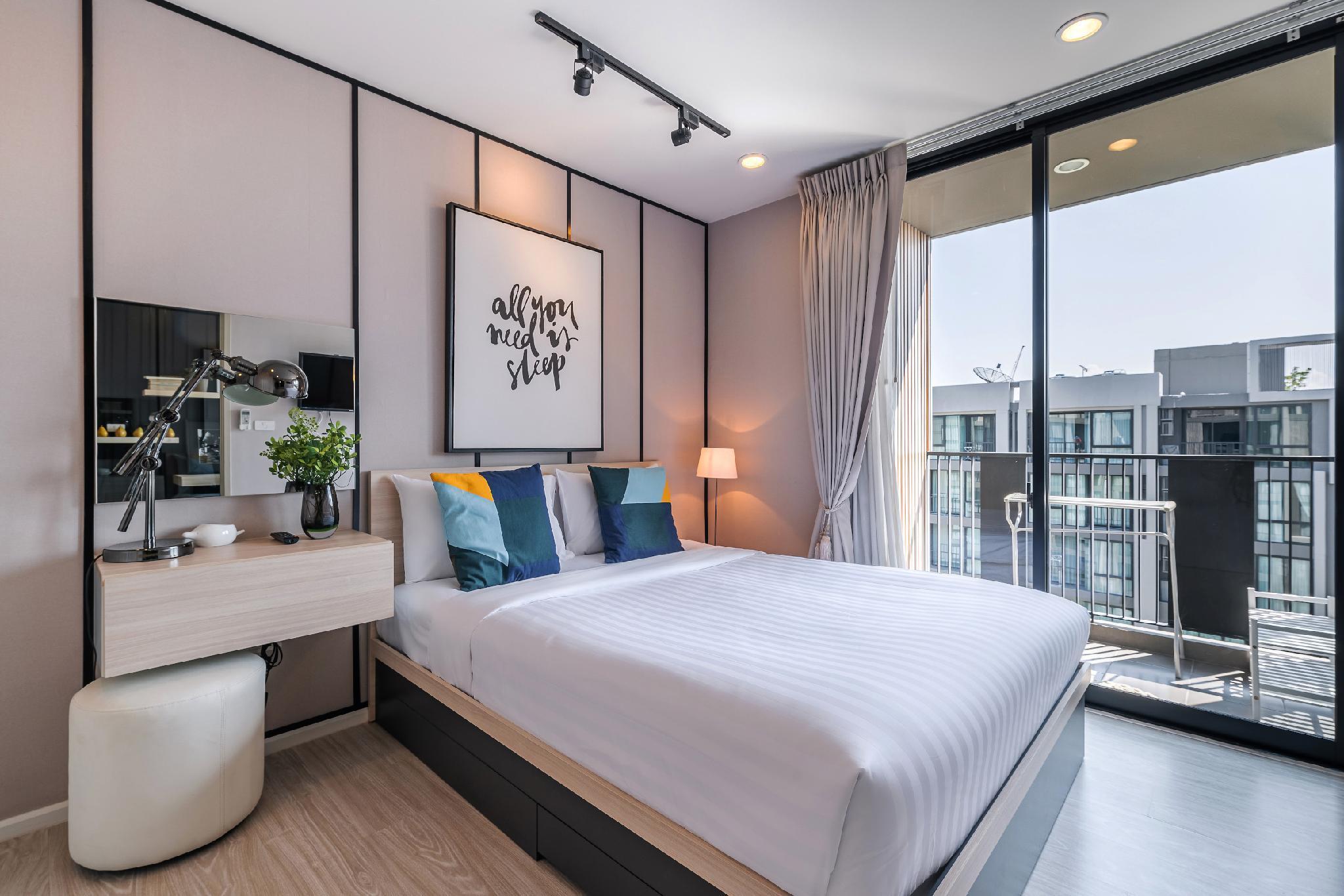 One Bedroom Suite in Nimman by Belcarra Spaces F89 อพาร์ตเมนต์ 1 ห้องนอน 1 ห้องน้ำส่วนตัว ขนาด 32 ตร.ม. – นิมมานเหมินทร์