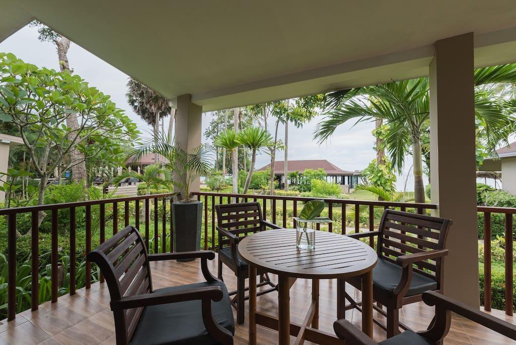 Family Villa Private Beach