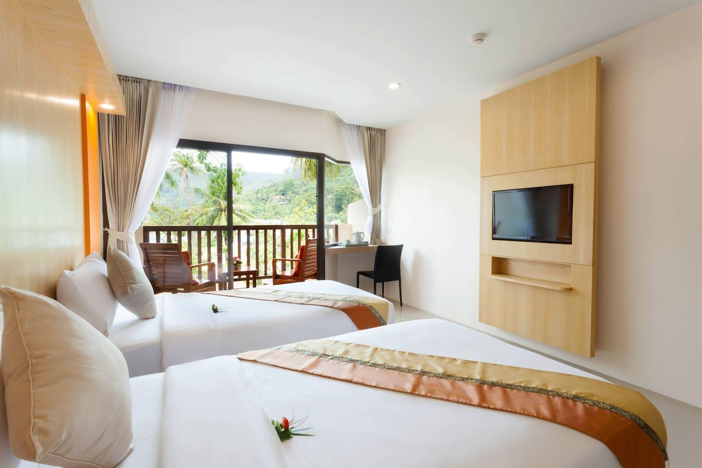 Cozy @ Patong Lodge Hotel, Phuket. 1 ห้องนอน 1 ห้องน้ำส่วนตัว ขนาด 30 ตร.ม. – ป่าตอง