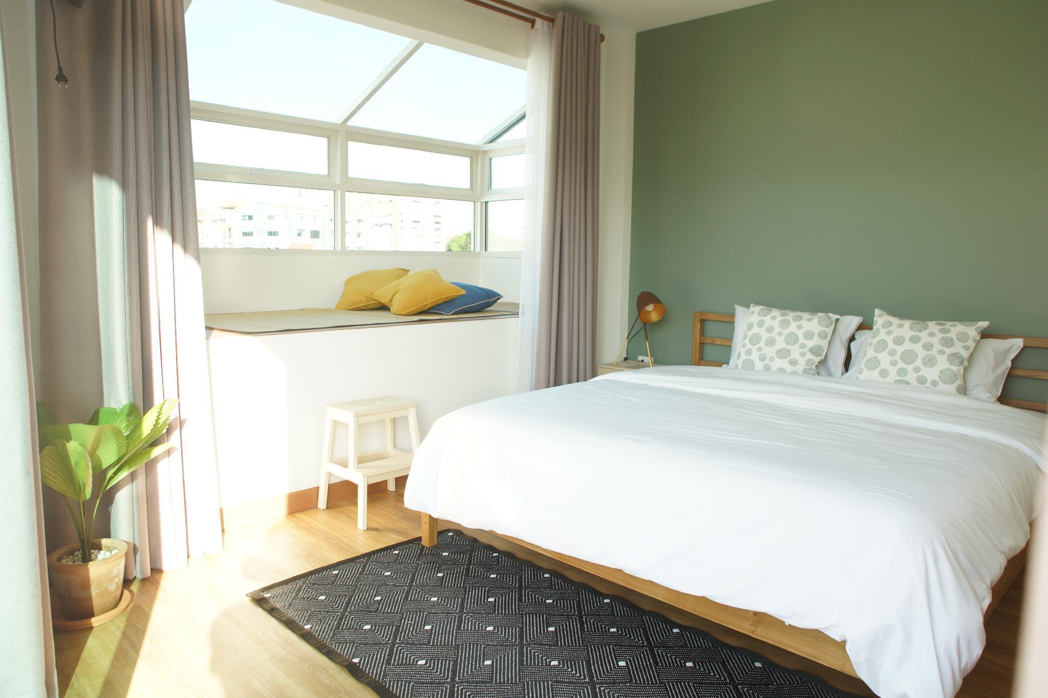 Breadfruit / Skylight Room สตูดิโอ อพาร์ตเมนต์ 1 ห้องน้ำส่วนตัว ขนาด 21 ตร.ม. – นิมมานเหมินทร์