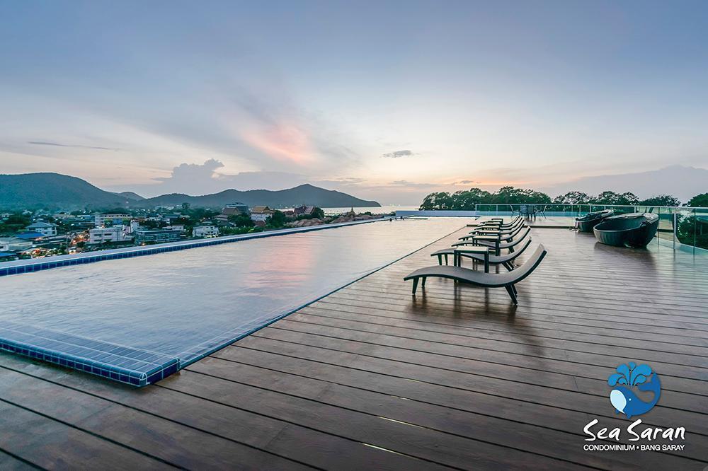 Sea Saran Condo @ Bang Saray Beach สตูดิโอ อพาร์ตเมนต์ 1 ห้องน้ำส่วนตัว ขนาด 26 ตร.ม. – บางสเหร่