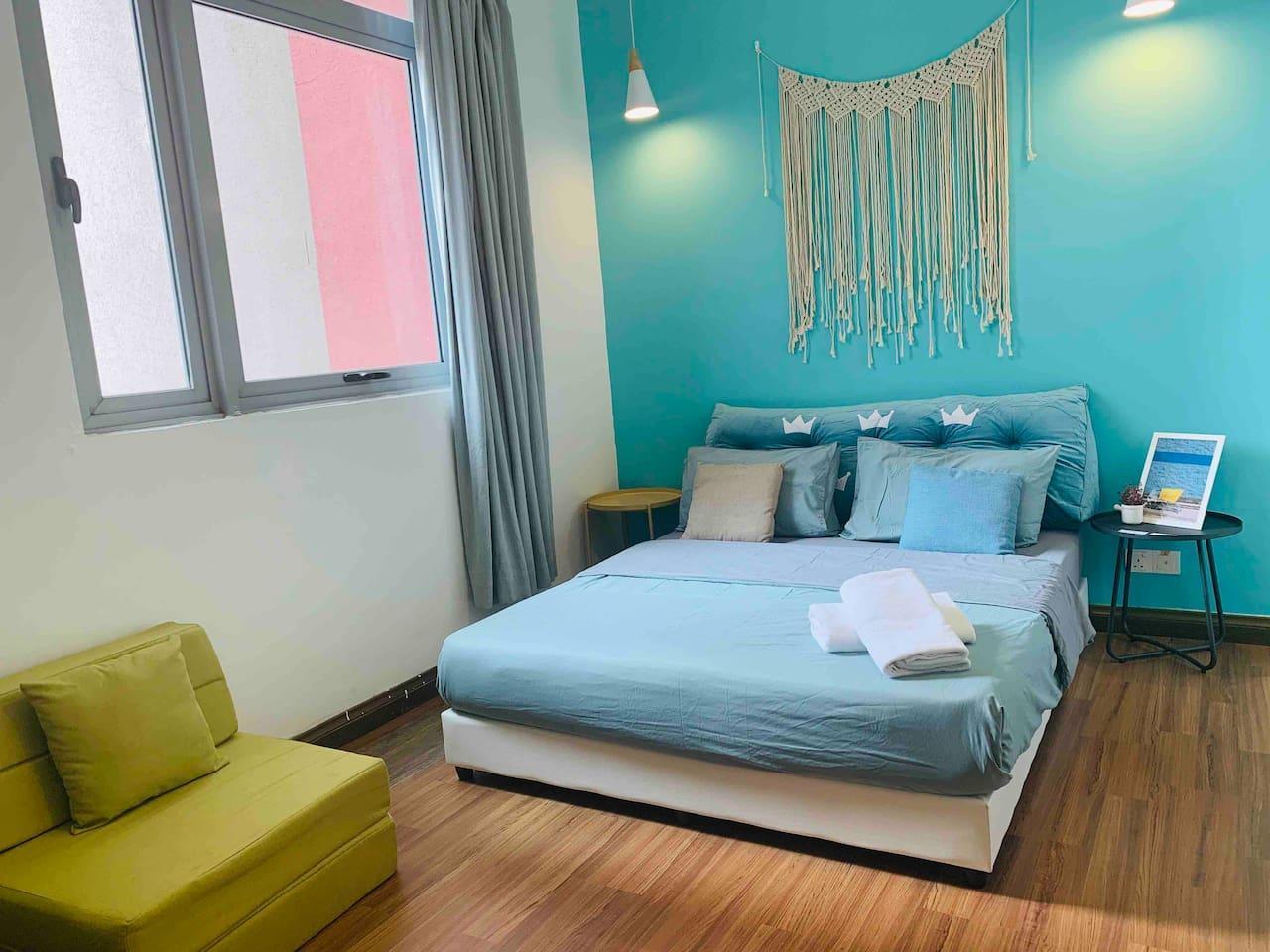 Private Bedroom  Taragon 14@Berjaya Times Squares