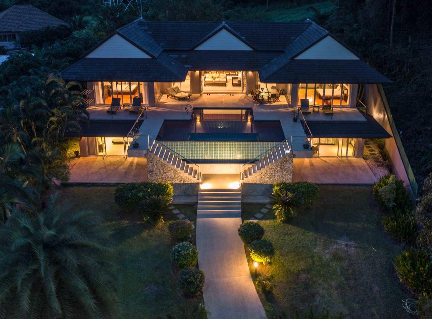 4Br Villa with big  garden and near beach วิลลา 4 ห้องนอน 4 ห้องน้ำส่วนตัว ขนาด 1600 ตร.ม. – อ่าวปอ/โบ๊ท ลากูน