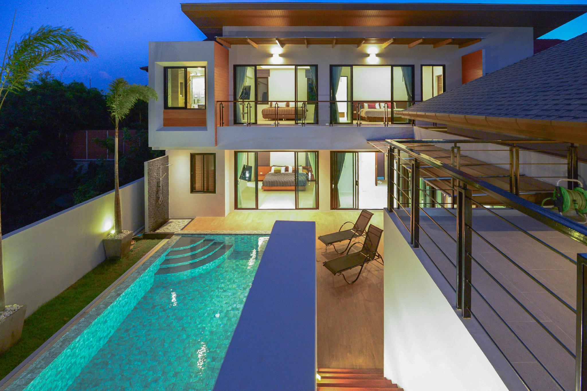 JC Pool Villa Phuket  Luxury Sea View 3 Bedroom