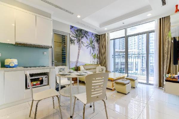 Delightful view, cozy design, next to Landmark 81 Ho Chi Minh City