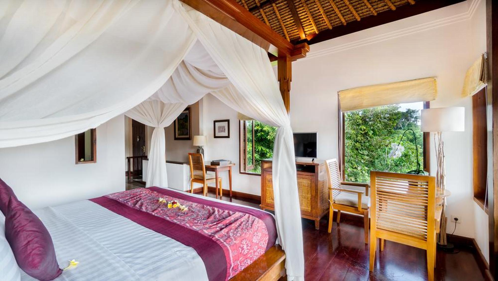 1 BR+Pool Villa With Panorama View+Brkfst@ 99 Ubud