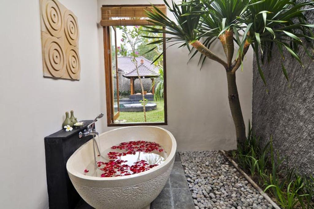 2 BR+ Private Pool+hair Dryer+Brkfst @ 96 Ubud