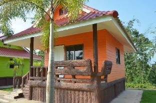 [ワンナムケオ]一軒家(30m2)| 1ベッドルーム/1バスルーム Baan see-som (orange house)