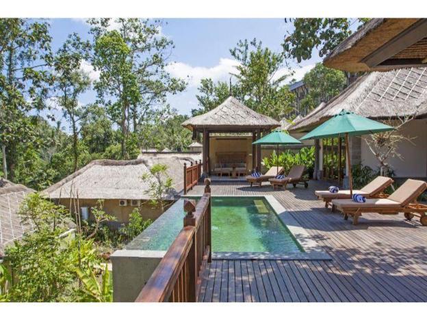 Presidential Pool Villa - Breakfast#TLUR