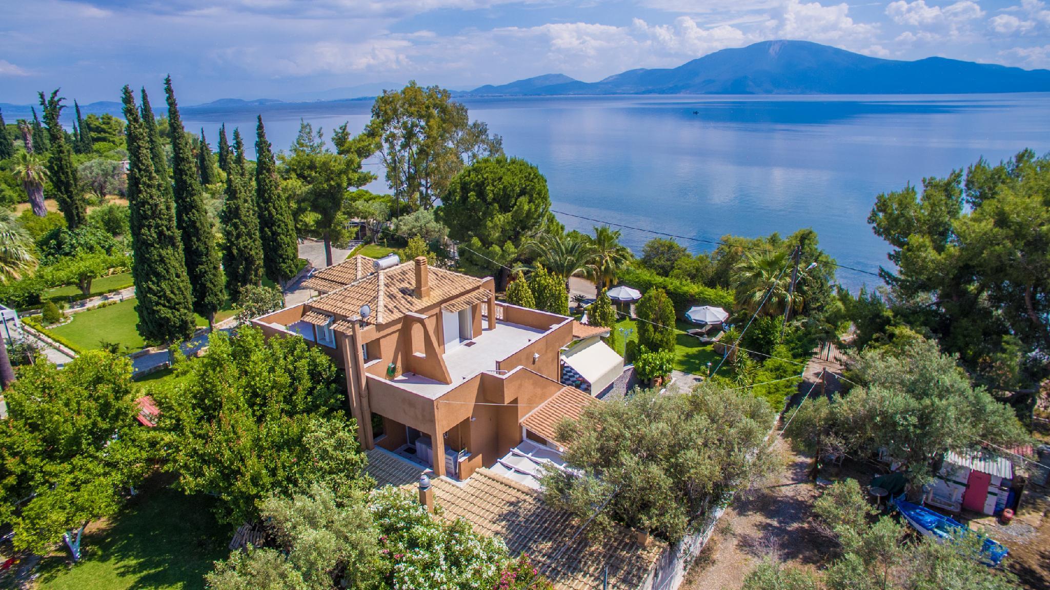 250sqm Faros Seaside View Villa   Politika  Evia