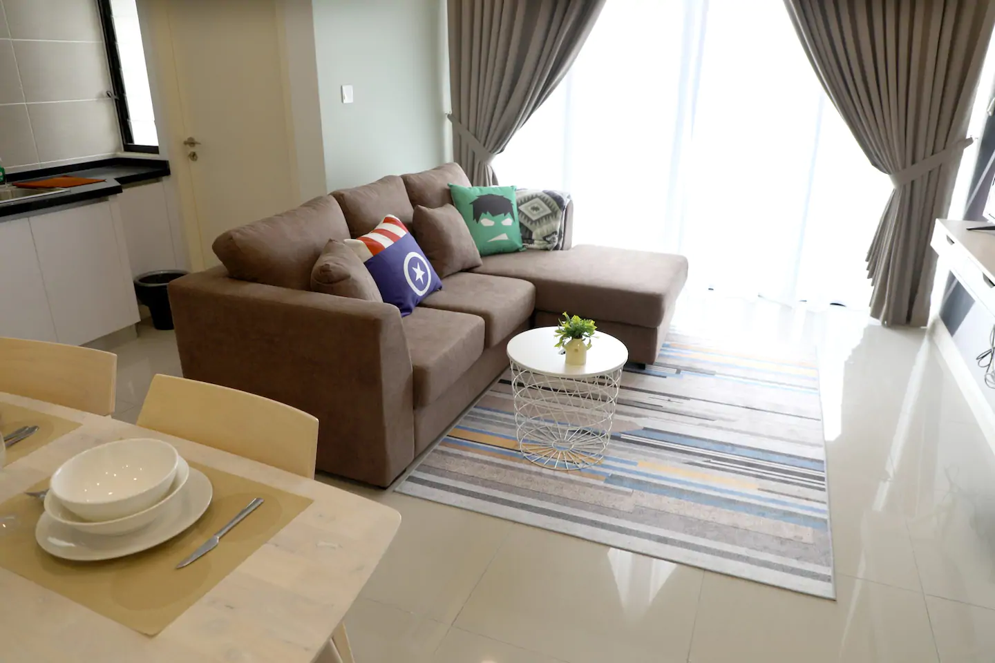 2min To LEGOLAND  Airport Pick Up  1BR 1529  T1