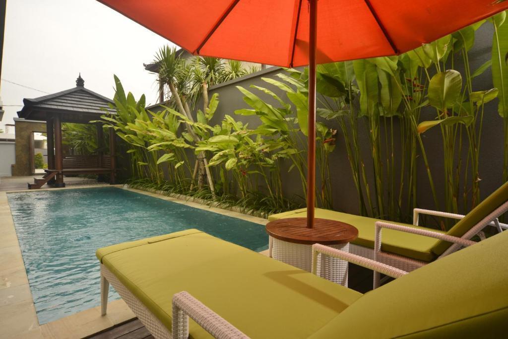 2 BR+Private Pool+Bathtub+ Brkfst @ 47 Canggu