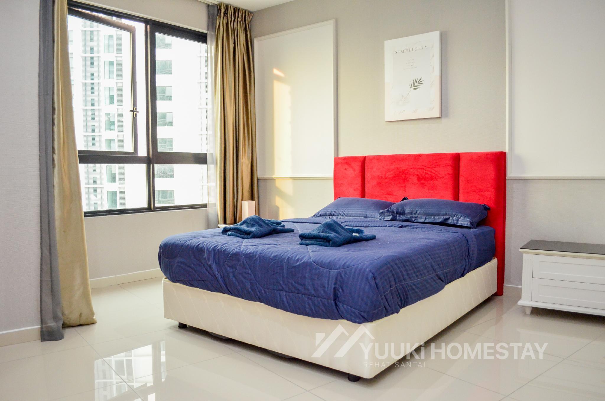 I City @ I Soho 1 BEDROOM @Yuuki Homestay  008U