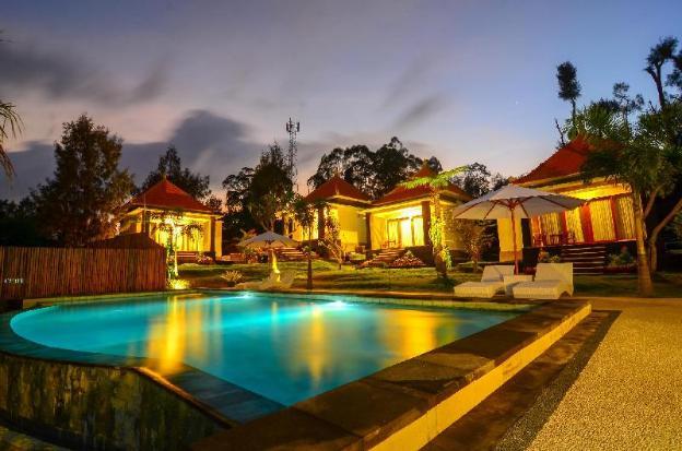 Mount Batur Villa Pool View